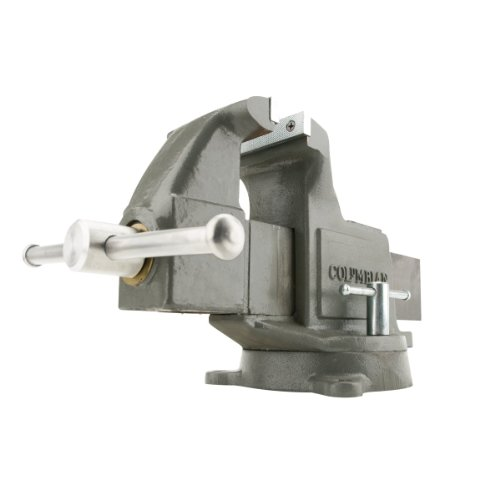 Columbian Cl 10206 606M3, Machinists-Feet Vises-Swivel Base, 6-Inch Jaw Width, 10-Inch Jaw Opening, 4-3/8-Inch Throat (Columbian Machinists Vises)