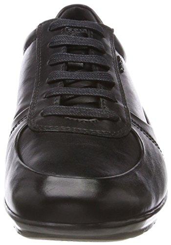 Nero black Symbol Uomo Scarpe Basse Da B Geox Ginnastica 43 Eu 085Oqq
