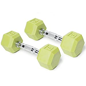 CAP Barbell Color Coated Hex Dumbbell (Set of 2)
