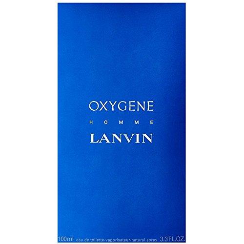 Oxygene By Lanvin For Men. Eau De Toilette Spray 3.4 Oz.