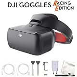 DJI Goggles Racing Edition 1080p HD Digital Video FPV Racing Goggles Starters Bundle