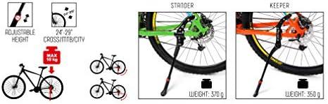 meteor Pata de Cabra para Bicicleta Aluminio Soporte Ajustable ...