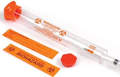 Eva-Safe Syringe Collection Tubes