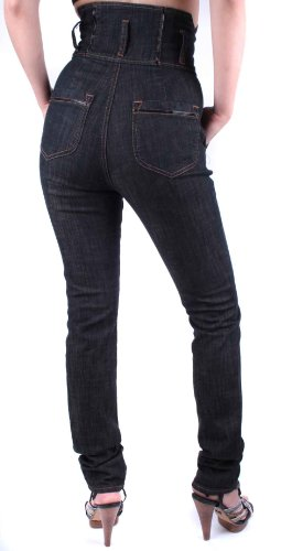 Pantalones Diesel 15 N vaqueros Mujer Y Skinny Negro z5w5qFa