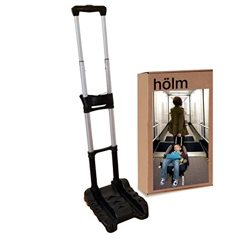 Holm Airport Car Seat Stroller Travel Cart and Child Transporter - A Carseat Roller for Traveling. Foldable, storable, and stowable under your airplane seat or over head compartment.