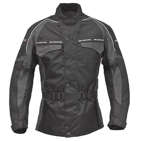 Roleff Racewear Reno RO 70i Chaqueta de Motorista, Negro/Gris, XL: Amazon.es: Coche y moto