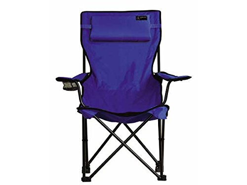 TravelChair Classic Bubba Chair, Comfortable Large Folding Camping Chair, Blue by TravelChair