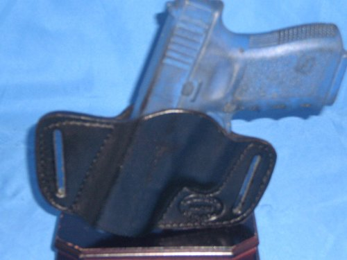 SPRINGFIELD XD SUB COMPACT 9MM/40CAL Small of back SOB Concealed Carry Leather Holster
