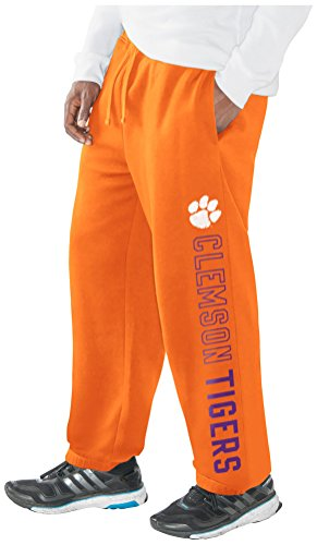 NCAA Clemson Tigers Men's Perfect Game Sweatpant, Orange, (G-iii Baseball)