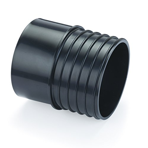 DWV PVC Pipe to 4-Inch Hose Dust Collection Adapter Fitting
