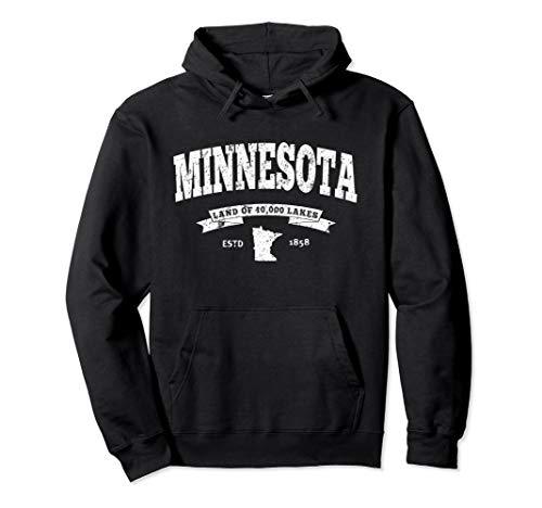 Minnesota Hoodie. Vintage Minnesota Sweatshirt Retro MN
