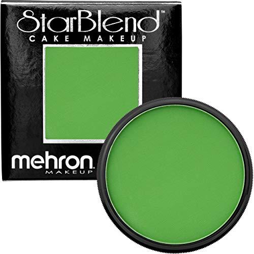 Mehron Makeup StarBlend Cake (2 oz) (Green)]()