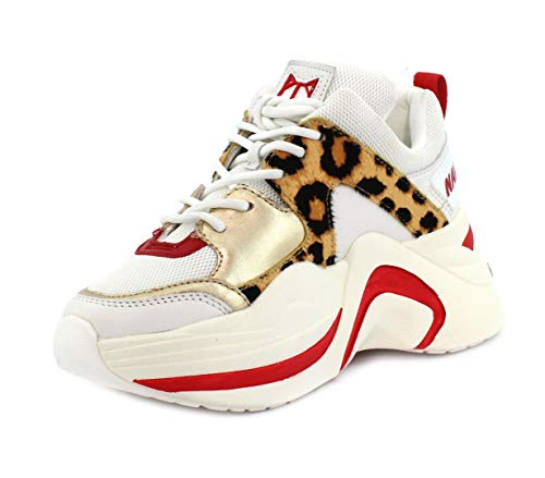 Naked Leopard Track Sneaker Wolfe Red qqP0zw