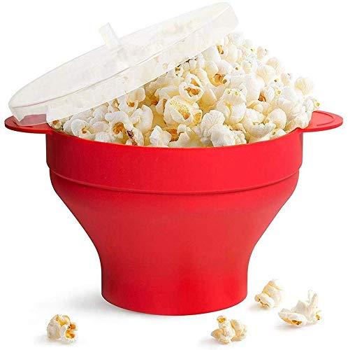DAFA LUXJET Microondas Popcorn Popper/Cuenco Plegable de Silicona ...