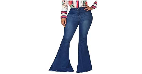 Amazon.com: Pantalones vaqueros Comaba para mujer, vaqueros ...