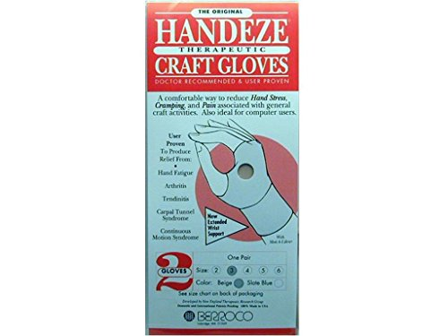 Handeze Berroco Glove Beige Pair Size 3 GloveBeigePairSize3, ()