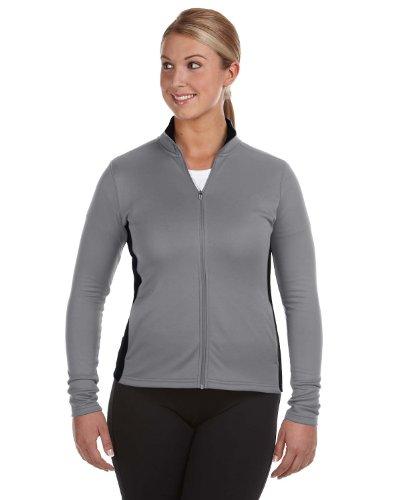 Champion Ladies Colorblocked Performance Full-Zip Sweatshirt