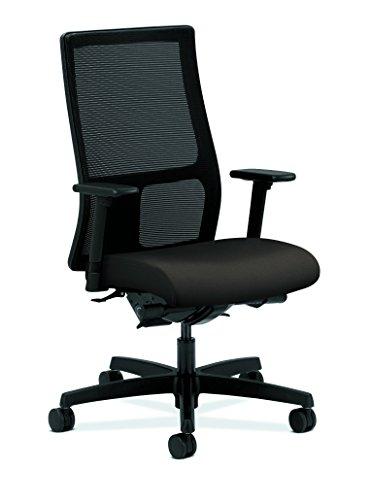 HON Ignition Series Mid-Back Work Chair - Mesh Computer Chair for Office Desk, Espresso (HIWM3) Espresso Mesh Seat