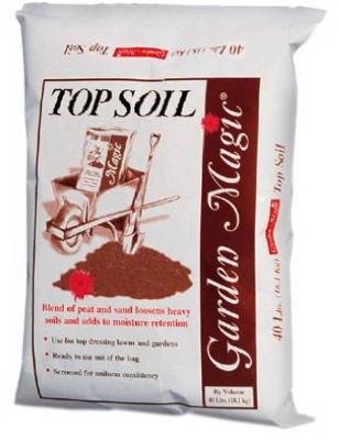Michigan Peat 5540 Garden Magic Top Soil, 40-Pound by Michigan Peat