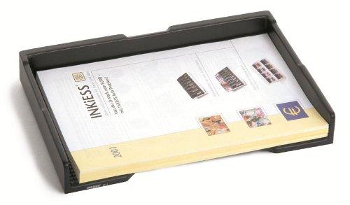INKiESS Belegefach BF 1 graphitschwarz f/ür die Ablage von DIN A 4 Formaten