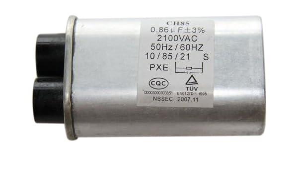 GE WB27 X 10240 condensador para microondas: Amazon.es ...