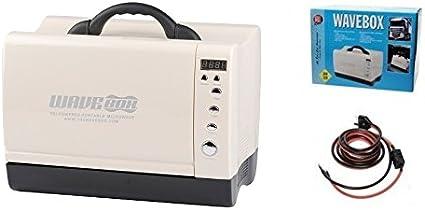DC - Horno microondas para camping, 24 V, color blanco: Amazon.es ...