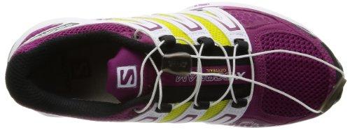 Salomon Damen X-Scream W Sport & Outdoorschuhe, Verde/Giallo/Viola mystic purple/mimosa yellow/white