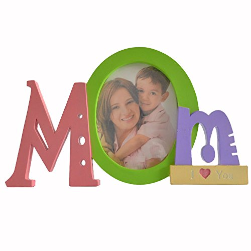 Gift Garden Mom gift 4 by 6 -Inch Oval Picture Frame for Mot