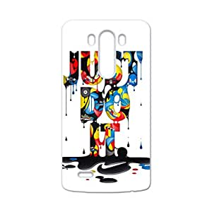 Watercolor Just Do IT New Style High Quality Comstom Protective case cover For LG G3