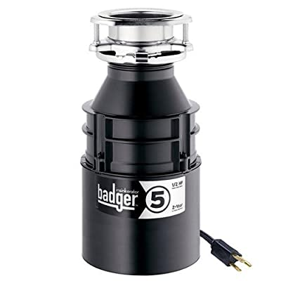 InSinkErator Badger 5 Garbage Disposal with Power Cord