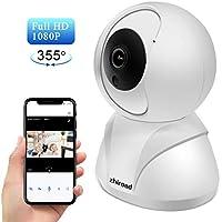 zhiroad 1080P HD 355 Wireless Home Indoor Security Camera