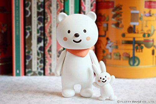 Fluffy House - Ordinary Bear 2.0 Designer Vinyl Toy Figure By Fluffy House
