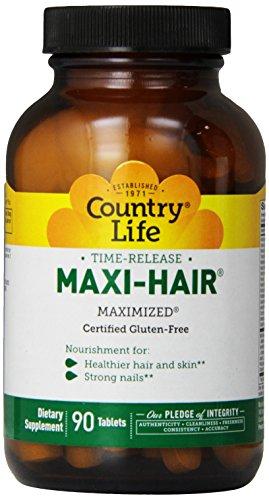 Country Life Maxi волос Время выпуска, 90-Tablet