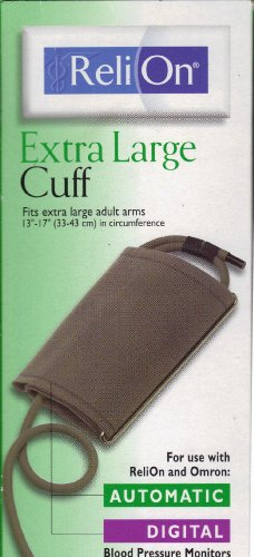 """Reli On Large Adult Cuff for Arm Size 13""""-17"""""""
