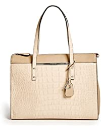 GUESS Factory Women's Kingsville Croc-Embossed Tote