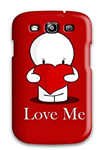 AndreaPope Galaxy S3 Well-designed Hard Case Cover Hd Cute Love Me Widescreen Protector by lolosakes