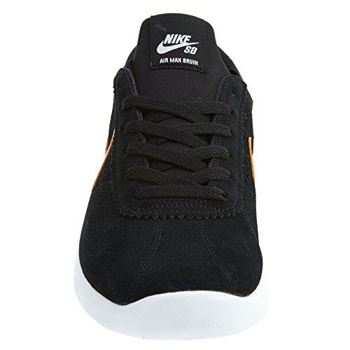 Nike Sb Air Max Bruin Vapor Mens Scarpe Da Skateboard 882097-081_8.5 - Nero / Circuito Arancio-bianco-nero