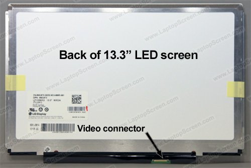Dell Latitude E4300 Led - DELL LP133WX2 DELL 13.3'' WXGA LED LCD Latitude E4300 Alt WU973