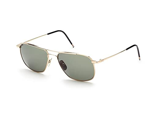 a5ac04dbcb83 Image Unavailable. Image not available for. Color  THOM BROWNE TB 103 A-GLD  12K Gold w  G15-AR Sunglasses