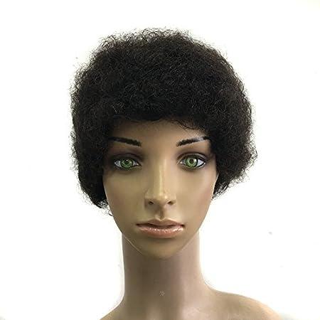 Amazon.com: Quercy Cabello 100% cabello humano máquina Made ...