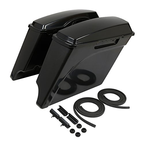 """XMT-MOTO Unpainted Black 5"""" Stretched Extended Hard for sale  Delivered anywhere in USA"""
