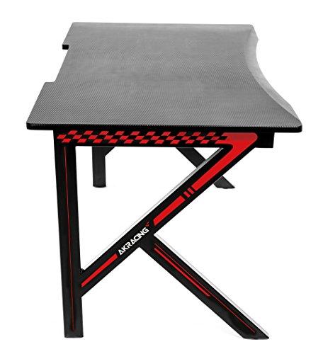 (AKRacing Summit Gaming Desk, Red)