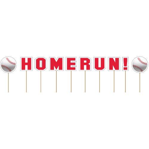 Creative Converting Fanatic Baseball Cupcake