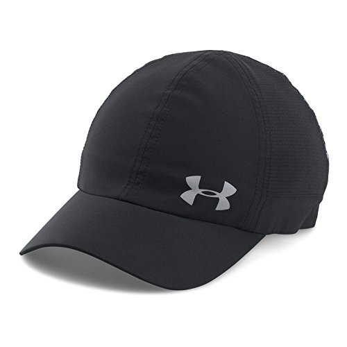 Under Armour Women's Fly By ArmourVent Cap, Black, One Size