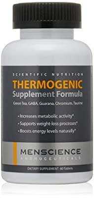 MenScience Androceuticals Thermogenic Supplement Formula, 60 tablets