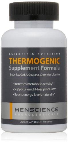 MenScience Androceuticals supplément thermogénique Formula, 60 comprimés