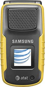 Samsung Rugby a837 Phone, Yellow  (AT&T)