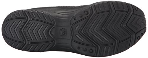 Easy Spirit Women's Traveltime Clog, Black/Black Leather, 8 W US by Easy Spirit (Image #3)