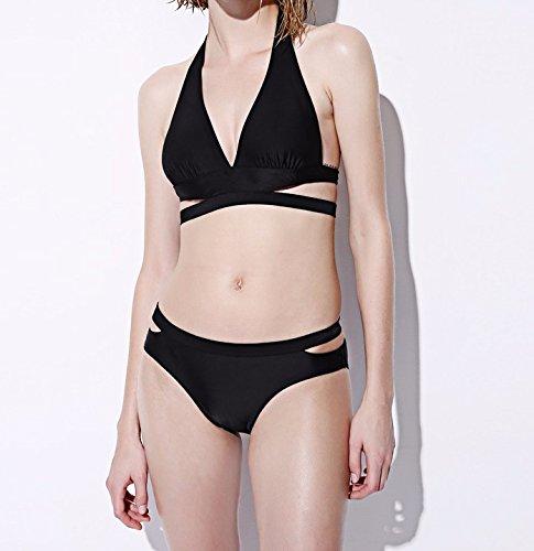 Bikini Badeanzug große Schaufeln Badeanzug dreieckige kleine Partikel von Brust split Strand Klage weibliche Schwimmen