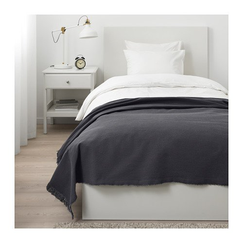 Amazon.com: IKEA jofrid manta oscuro Blue-Gray 203.957.41 ...
